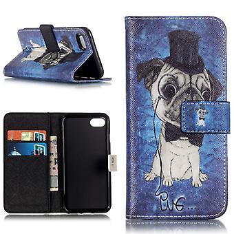 Pocket tegnebog premiummodel 65 for Apple iPhone 7 ærme tilfælde dække pose