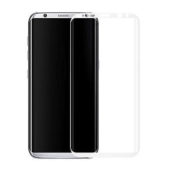 Premium 0,3 mm gebogenes Hartglas Weiß Folie für Samsung Galaxy S8 G950 G950F