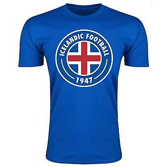 Iceland Core Logo T-Shirt (Blue) - Kids