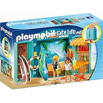 Playmobil 5641 Surf Shop Play Box, Multi