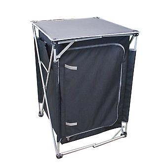 Yellowstone Folding Storage Cupboard With 3 Shelves
