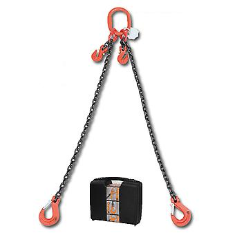 8097/1 C6A Beta Chain Sling 2 Legs And Grab Hook In Plastic Case 6mm 1 Mt