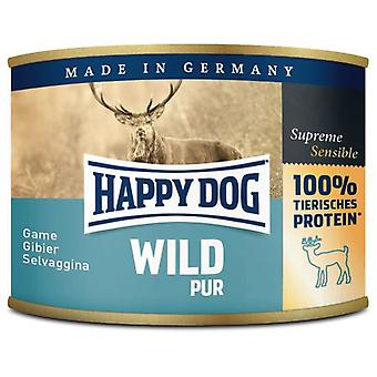 Happy Dog Wild Pur (Game) (Dogs , Dog Food , Wet Food)