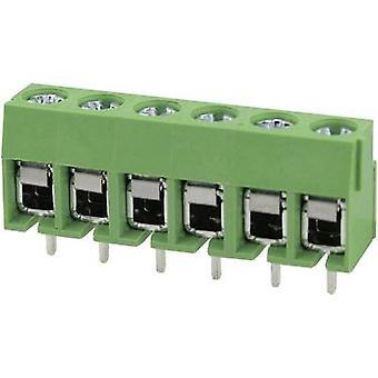 Degson DG126-5.0-02P-14-00AH Screw terminal 2 mm² Number of pins 2 Green 1 pc(s)