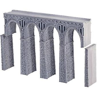 NOCH 58660 H0 Quarry stone Viaduct, straight (L x W x H) 370 x 44 x 245 mm