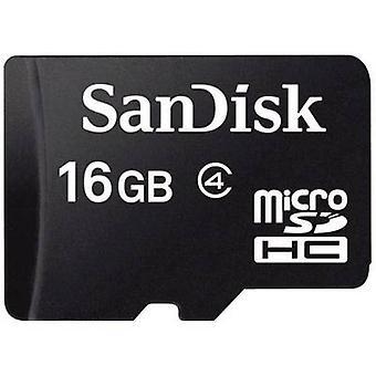 Scheda microSDHC di SanDisk SDSDQM-016G-B35 16 GB classe 4