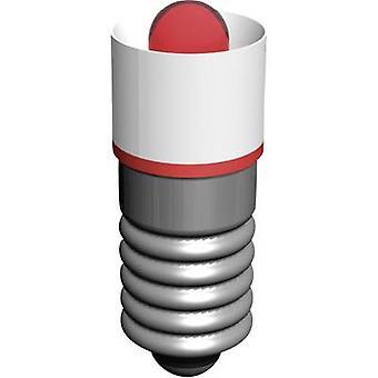 Signal Construct LED bulb E5.5 Red 18 V AC MEDE5503