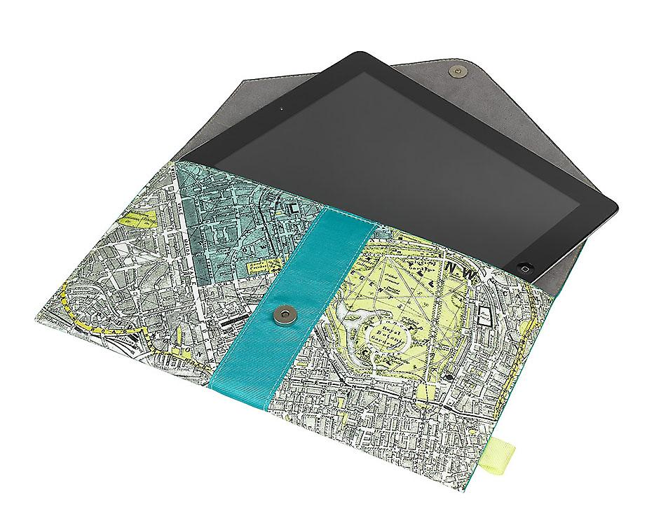 London Tablet Case - Metropolitan Range by Wild & Wolf