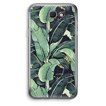 Samsung Galaxy J5 Prime (2017) Transparent Case (Soft) - Banana leaves