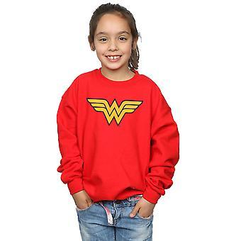 DC Comics meisjes Wonder Woman Logo Sweatshirt