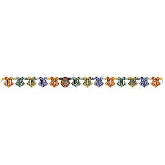 Harry Potter Garland 182 cm gelukkige verjaardag oorspronkelijke goochelaar verjaardag Feestdecoratie