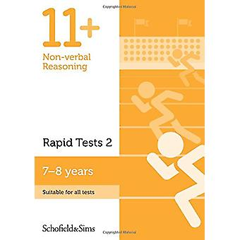 11+ Non-verbal Reasoning Rapid Tests Book 2 - Year 3 - Ages 7-8 - 9780