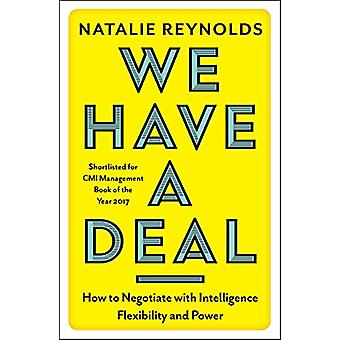 We Have a Deal by Natalie Reynolds - 9781785781650 Book