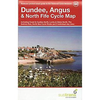 Dundee - Angus & North Fife Cycle Map 44 - Including Coast & Castles N