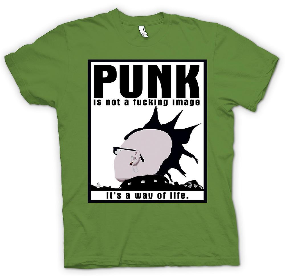 Mens T-shirt - Punk Is Not An Image