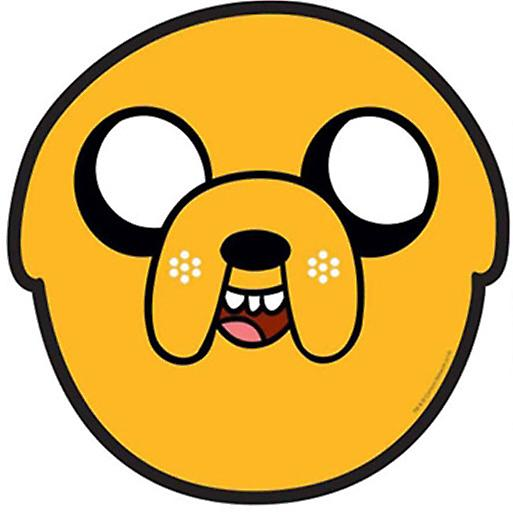 Jake Adventure Time Party Card Face Mask (Single)