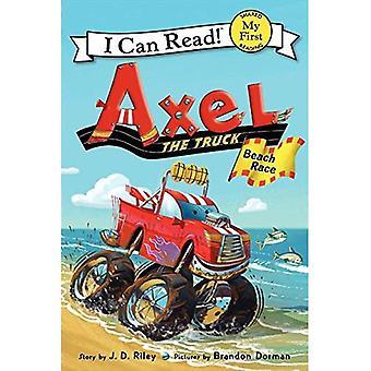 Axel le camion: course de plage