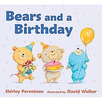 Bears and a Birthday (Bears on Chairs) [Board book]