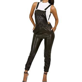 Waooh - sexy leather effect Overalls Livya
