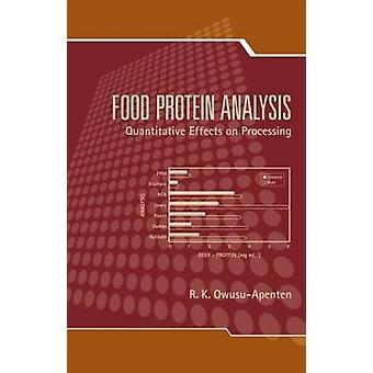 Essen Protein Analyse Quantitative Auswirkungen auf die Verarbeitung von OwusuApenten