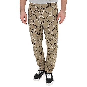 Valentino Beige/sort bomuld bukser
