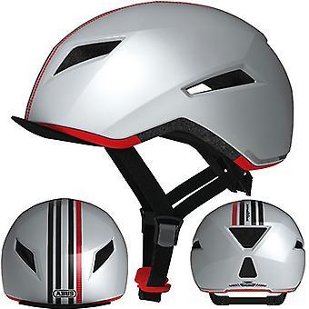 ABUS Yadd-io #credition bici casco / / silver edition