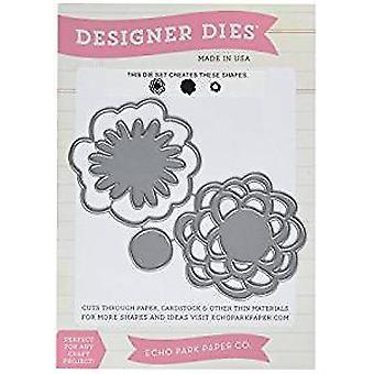 Echo Park Paper Simple Life Flowers Designer Dies (EPMDie13)