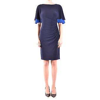 Ralph Lauren Blue Polyester Dress