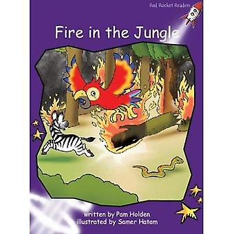 Fire in the Jungle: Level 3: Fluency (Red Rocket Readers: Fiction Set A)