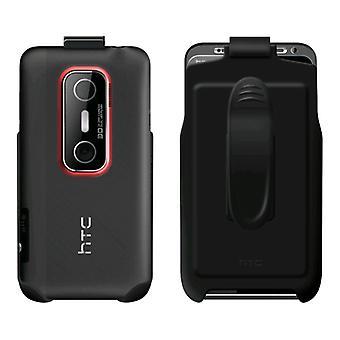 OEM HTC Hard Shell Case avec étui Combo pour HTC EVO 3D - noir