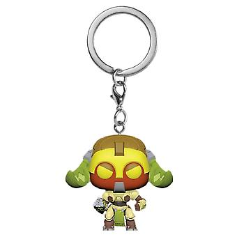 Overwatch Orisa Pocket Pop! Keychain