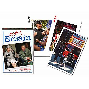 Quirky Britain set of playing cards    (gib)