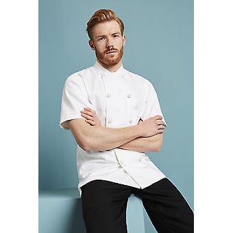 Simon Jersey 100% Cotton Short Sleeve Chefs Jacket