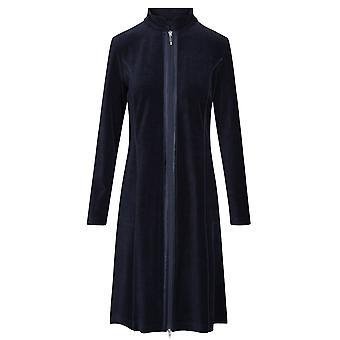 Rosch 1884165-11694 Frauen's New Romance Night Blue Cotton Loungewear Robe