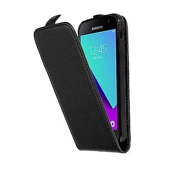 Cadorabo Hülle für Samsung Galaxy XCover 4 Case Cover - Handyhülle im Flip Design aus strukturiertem Kunstleder - Case Cover Schutzhülle Etui Tasche Book Klapp Style