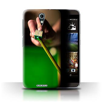 STUFF4 Case/Cover for HTC Desire 820 Mini/Chalk/Cue/Snooker