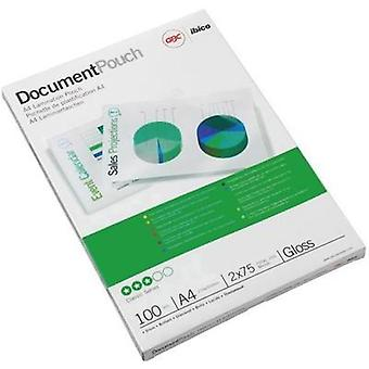 Laminate sheet GBC DIN A4 75 micron glossy 25 pc(s)