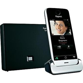 Cordless analogue Gigaset SL910 Touchscreen Stainless st