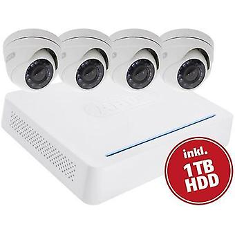 CCTV system ABUS 8-channel incl. 4 cameras 1 TB TVVR33418