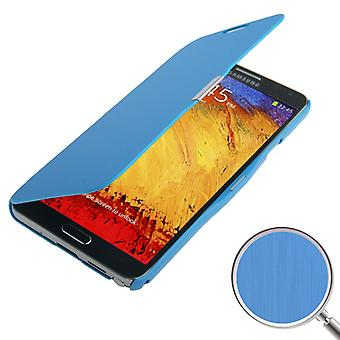 Cell phone cover case voor Samsung Galaxy touch 3 N9000 blauwe geborsteld