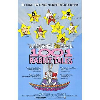 Bugs Bunnys 1001 Rabbit Tales Movie Poster (11 x 17)