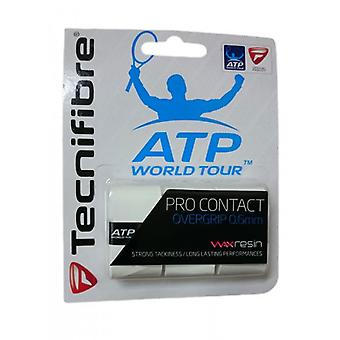 Tecnifibre Pro Contact Overgrip 3er Pack weiß