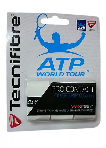 Tecnifibre Pro contact Overgrip white 3 Pack