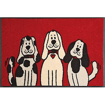 Wash & dry mat washable three dogs 50 x 75 cm 030805