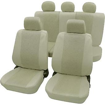 Seat covers 11-piece Petex 26174809 Sydney Polyester Beige