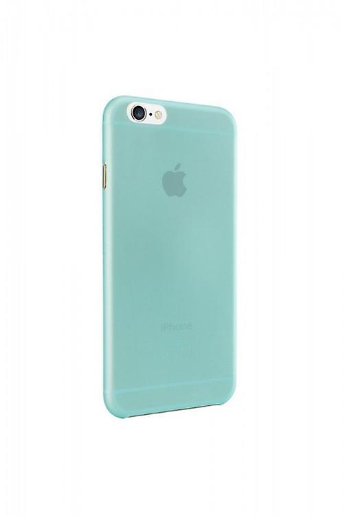 Ozaki OC555CY O! Coat jelly cover sleeve, iPhone 6 6S, cyan