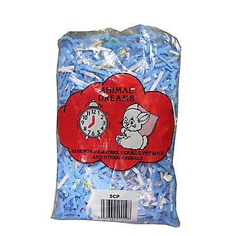 Animalske drømme strimlet farvet papir Standard (pakke med 20)