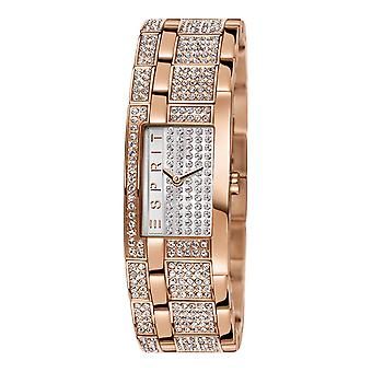 ESPRIT ladies watch bracelet watch bling Houston stainless steel Rosé ES000EW2007