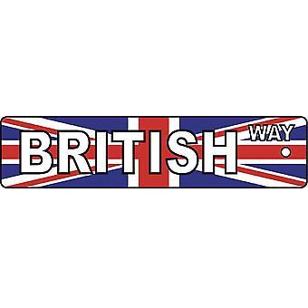英国ウェイ道路標識車用芳香剤