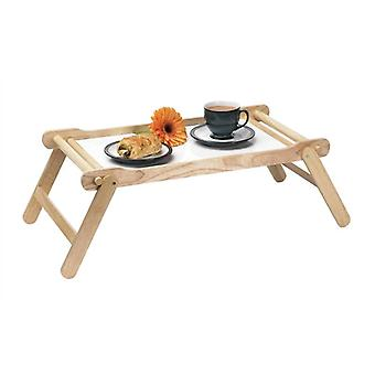Wooden Bed Serving Tray